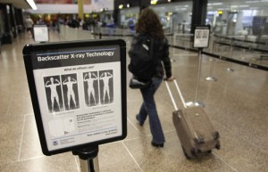 Holiday Travel: TSA AIT Full Body Scanners