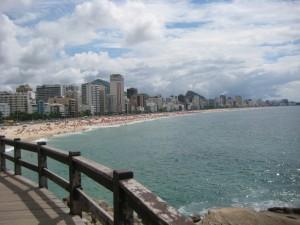 Ipanema Beach Rio Brazil