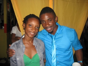 Chris Martin with me at Reggae SumFest 2010